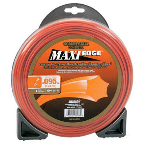 Arnold Maxi Edge .095-Inch x 100-Foot Commercial Trimmer Line Arnold Corporation WLM-H95