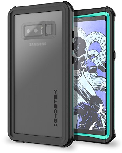 Ghostek Nautical Full Body Waterproof Case Designed for Samsung Galaxy Note 8 - Teal