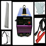 TOOLS CENTRE PORTABLE INVERTER WELDING MACHINE MADE IN INDIA WITH WELDING ACCESSORIES COMBO (200 Amp)