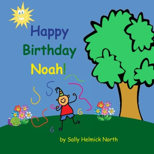 Kids Personalized Gift Card - Happy Birthday Noah! (Personalized books, personalized gifts, Birthday gifts for kids)