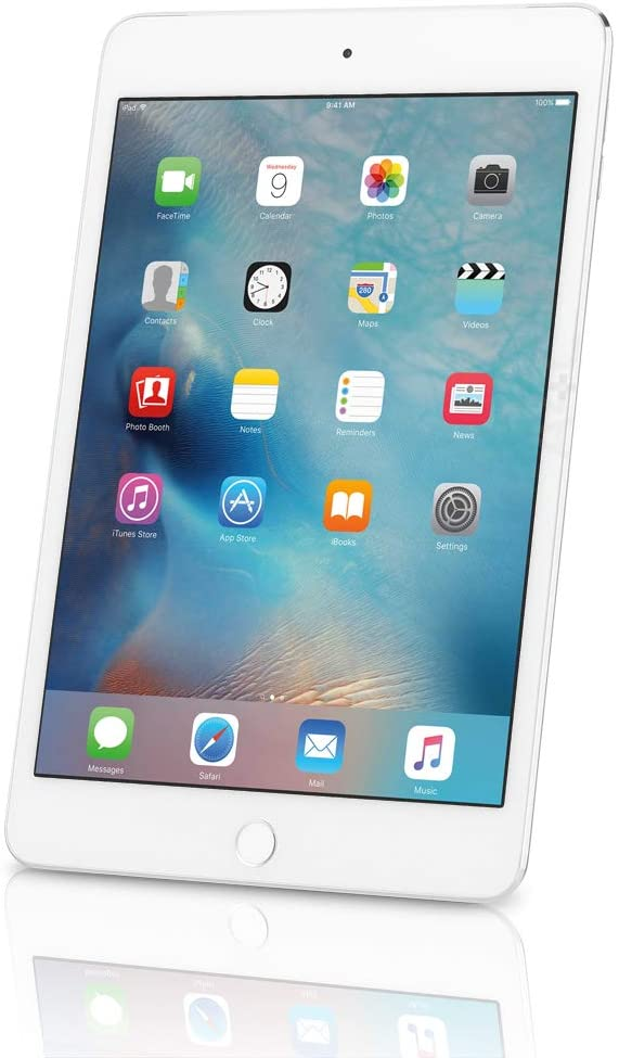 Apple iPad Mini 4, 16GB, Silver - WiFi (Renewed)