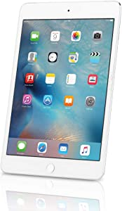 Apple iPad Mini 4, 128GB, Silver - WiFi (Renewed)
