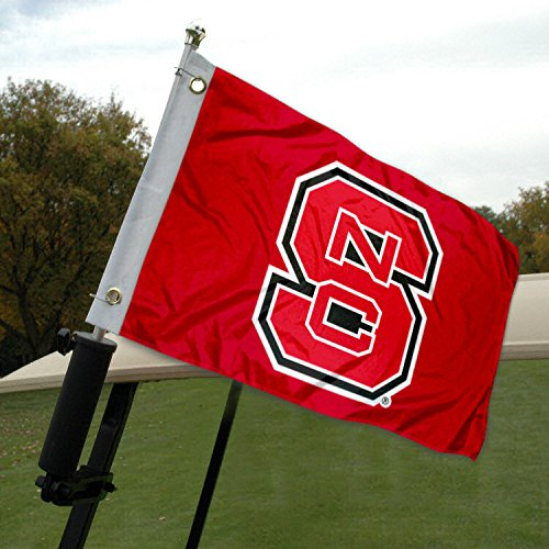 NC State Golf Cart and Boat Flag ()