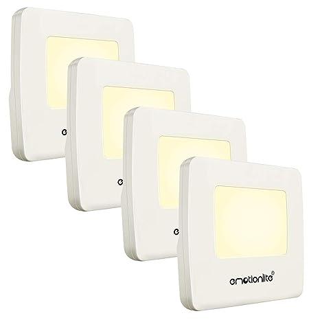 Amazon.com: Luz LED con sensor para la noche para la ...
