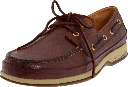 (Sperry Men's Gold Cup 2 Eye Boat Shoe,Cognac,10.5 M US)
