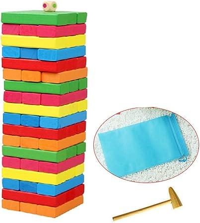 Mini Juego de Mesa Juego, balanza Digital Building Blocks, Pareja Juguete Adulto Amor Juego de Mesa de Yi niños de Inteligencia para Puzzle Crecimiento Intelectual,f: Amazon.es: Hogar