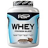 RSP Nutrition Whey Protein Powder Blends, Chocolate, 4 Pound