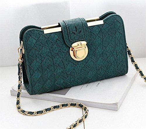 De Bolsas Mujeres Del Green Hombro Tendencia Moda Bolsa Diagonal Bolso Personalidad Partido Pequeño Simple Mano Bao nAXdgwxx