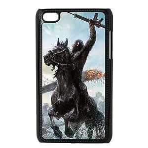 iPod Touch 4 Case Black planet of apes film illust VIU066360