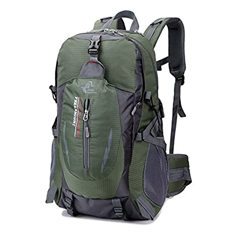 b3d0de4b92 35L Women Men Waterproof Travel Camping Sports Hiking Daypack Outdoor  Backpack (Army Green)