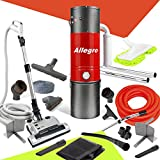 allegro mu4500champion 6000square foot home central vacuum system 30 foot electric hose