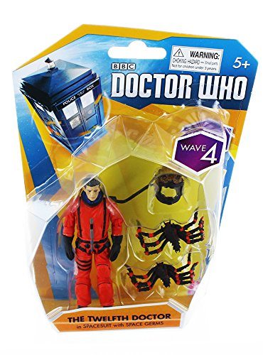 The Twelfth Doctor in Spacesuit with Space Germs