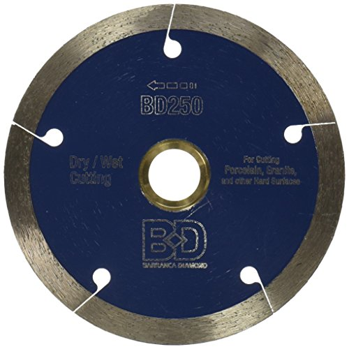 MK Diamond 164111 MK-250GXC 4-Inch Premium Dry Cut Grade Blade for Granite and Porcelain Tile