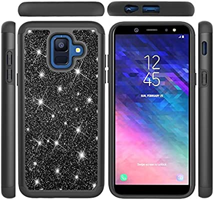 Amazon.com: Galaxy A6 2018 Case, LYO Dual Layer Hybrid 2 in ...