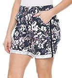 Gloria Vanderbilt Women's Maren Twill Shorts (Midnight Affair, 12)