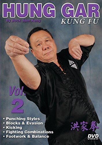 Hung Gar Kung Fu #2 punching, evasion, kicking, fighting DVD