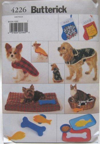 Butterick Pattern 4226 Pet Accessory Package ()