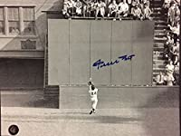 Autographed/Signed Willie Mays San Francisco Giants Horizontal 8x10 Baseball Photo Say Hey COA