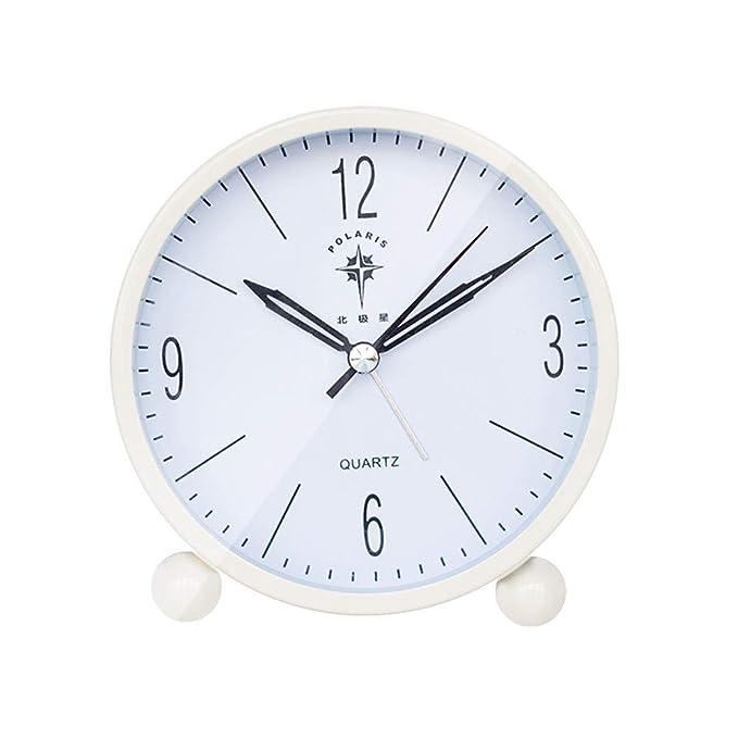 Steaean Despertador Creativo Despertador Simple Moda ...
