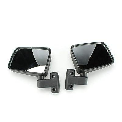Chikia Pair L+R Side View Mirror For UTV 400 500 700 800 HiSun,Massimo MSU500,SuperMach: Automotive