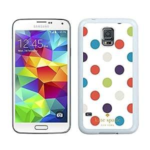 Fashion Antiskid Custom Designed Kate Spade Samsung Galaxy S5 I9600 G900a G900v G900p G900t G900w White Phone Case 049