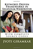 Keyword Driven Frameworks in Selenium Webdriver, Jyoti Giramkar, 1499147805