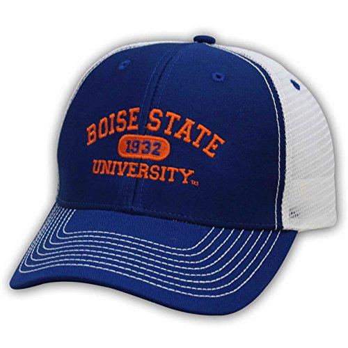 NCAA Boise State Broncos Adjustable Sideline Cap, Royal/White - State Hats Broncos Boise