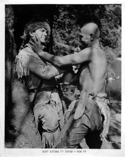 Robert Taylor Indian Many Rivers to Cross Original 8x10 Photo - Taylor Rivers To Cross Robert Many