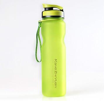 PENVEAT Botella de agua grande 1000 ml plástico deportes botella de agua espacio Kettle Bike al