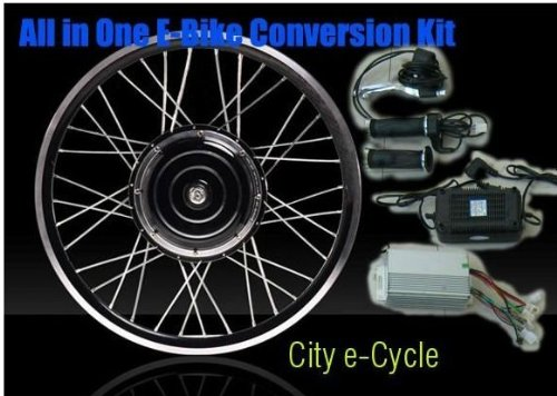 Disc Brake 48v 1000w Electric Bike Conversion Kits With