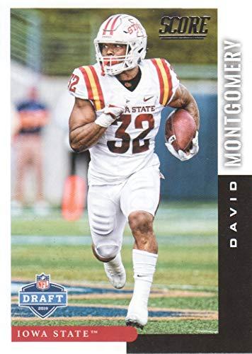 2019 Score Football NFL Draft #DFT21 David Montgomery Iowa State