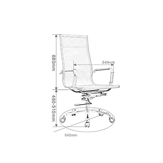 office chair hydraulic diagram