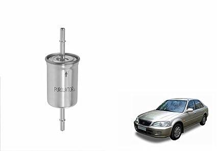 purolator petrol car fuel filter 915300199-honda city 1 3/1 5 type 1 (1998