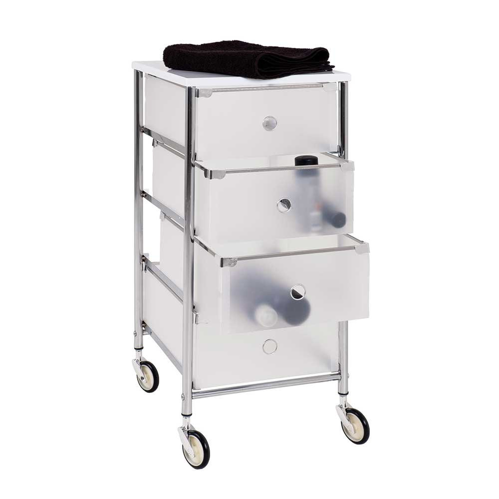 Rollcontainer bad kunststoff  Bad Rollcontainer mit Schubladen Kunststoff Pharao24: Amazon.de ...