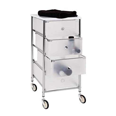 Rollcontainer bad  Bad Rollcontainer mit Schubladen Kunststoff Pharao24: Amazon.de ...