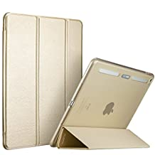 iPad Mini 4 Case,iPad Mini 4 Cover,ESR Yippee Color Plus Smart Cover with Built in Translucent Hybrid Back Cover [Corner Protection][Ultra Slim][Auto Wake up/Sleep Function] for iPad Mini 4(Champagne Gold)