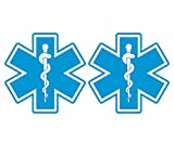 Star of Life REFLECTIVE Decal