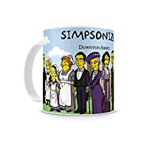 Caneca Downton Abbey The Simpsons