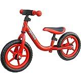 "Mamba Sport 12"" Balance Bike with Handlebar Pad (Red)"