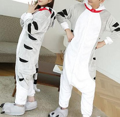 Ispessimento Pigiami Animale Usura Peluche gatto Di Cosplay Svago Inverno Costume Sed xl One Piece Unisex Adult qUFxn8wgv