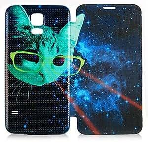 GX Teléfono Móvil Samsung - Carcasas de Cuerpo Completo - Dibujos Animados - para Samsung S5 i9600 ( Multi-color , Cuero PU )