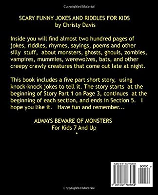 Scary Funny Jokes and Riddles for Kids: Christy Davis