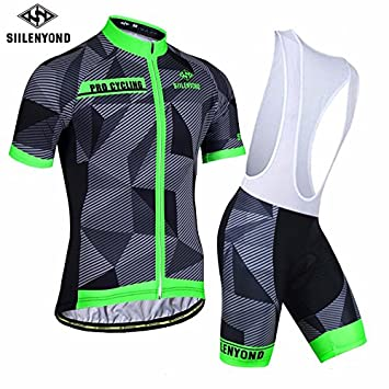 60bd5e76fd Ropa Ciclismo Trajes de ropa para ciclistas de hombres Camisetas deportivas  Trajes de jersey de manga ...