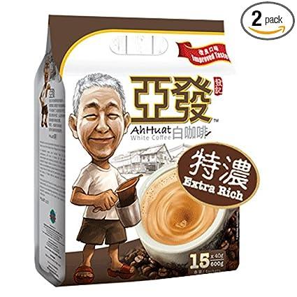Amazon Com 2 Pack Malaysia Best Coffee Brand Ah Huat White
