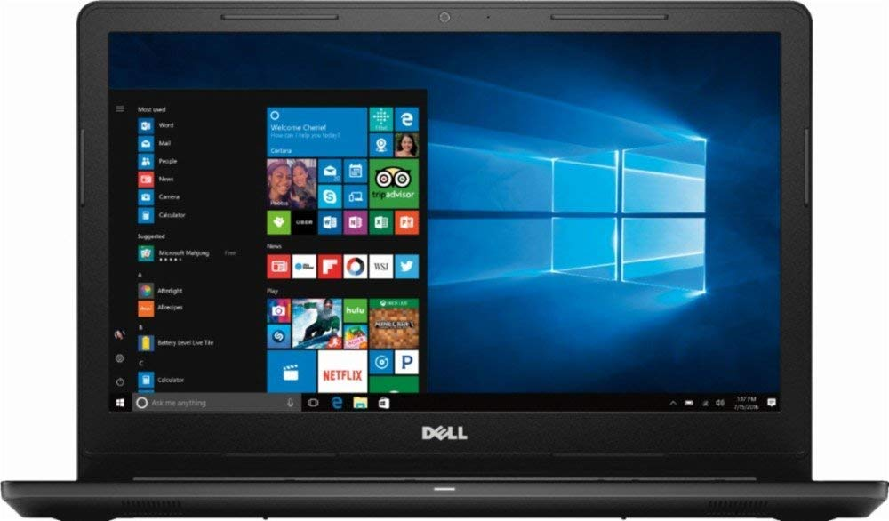 "2019_Dell Inspiron 15.6"" HD High Performance Laptop, Intel Celeron Processor,4GB DDR4 RAM, 500GB Hard Drive, Wireless+Bluetooth,HDMI,DVD R/W, Windows 10 1"