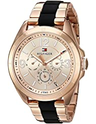 Tommy Hilfiger Womens SOPHISTICATED SPORT Quartz and Stainless Steel Casual Watch, Color:Rose Gold-Toned (Model...