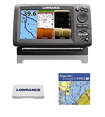 Lowrance Hook-7 Combo Nautic Insight 83/200/455/800 Hdi T/m by Lowrance