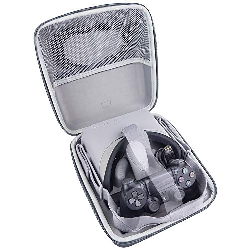AMVR VR Case EVA Waterproof Travel Storage Carrying Protective Bag for Oculus Go Virtual Reality Headset and Gamepad Controller kit & Accessories