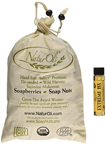 NaturOli-Soap-Nuts-Soap-Berries-1-Lb-USDA-ORGANIC-240-loads-18X-BONUS-12-loads-Select-Seedless-Wash-Bag-Tote-Bag-8-pg-info-Organic-Laundry-Soap-Natural-Cleaner-Processed-in-USA