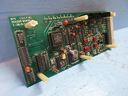 ABB Safe Flame DFS C-20-0-1107 Sensor Board Module PLC